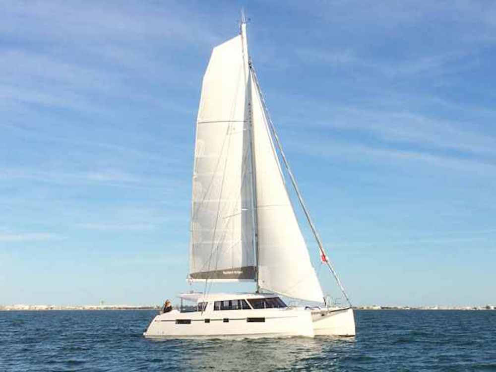 Nautitech 46 Open under sail