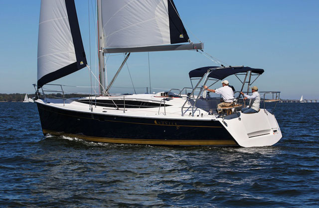 Marlow Legend 37 review: a family cruiser