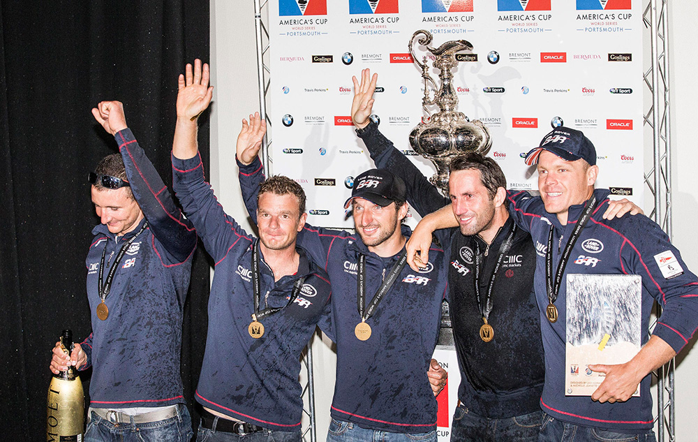 Ben Ainslie's America's Cup World Series win