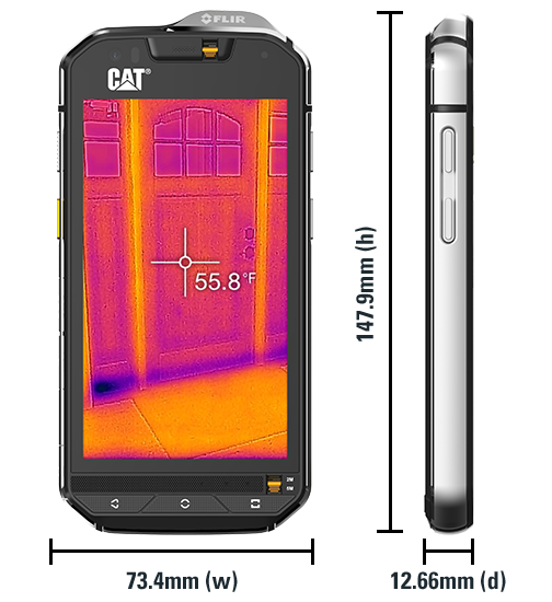 Cat Phone S60: thermal imaging resolution