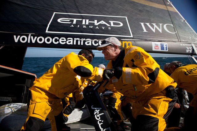 Volvo Ocean Race: Abu Dhabi takes home double