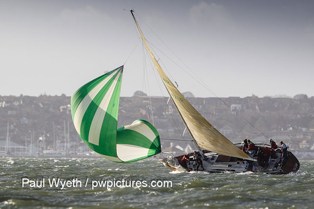 Hamble Winter Series: penultimate weekend