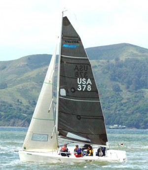 The Melges 24.