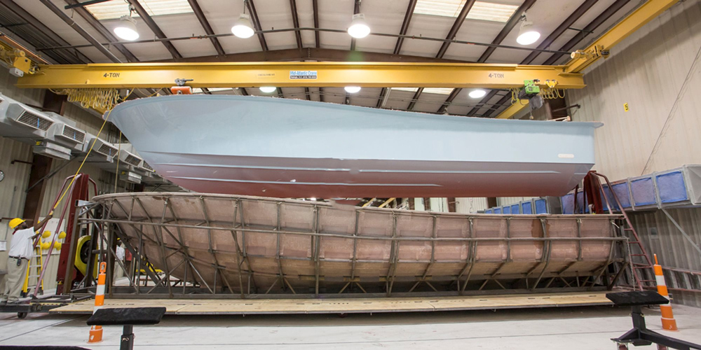 Boat Building: Basic Construction of Resin, Fiberglass, and Cores