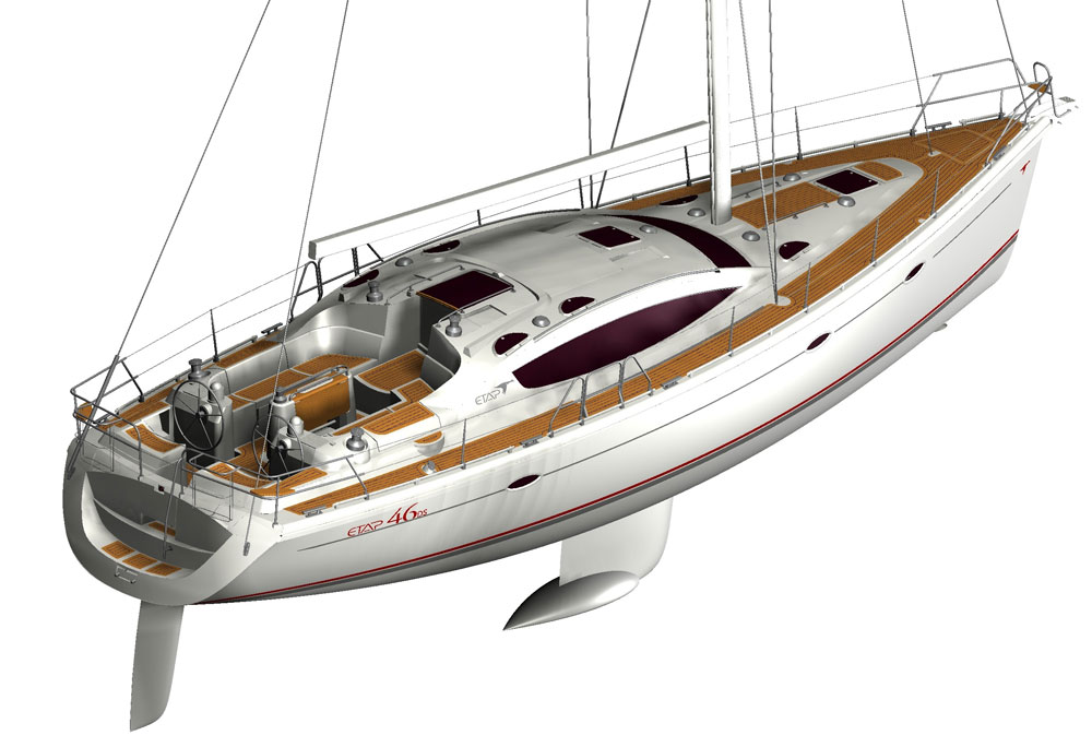The Etap 46 With Its Double Hull Construction Is An Excellent Example Of Unsinkable Boat