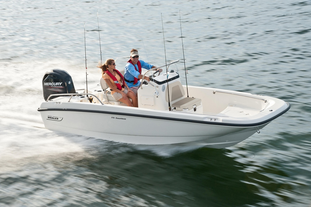 Boston Whaler 17 Dauntless Used Boat Review