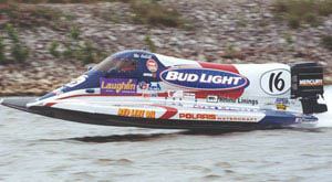 Tim Seebold won the annual Formula One season opener in Laughlin, Nev., for second consecutive time. (Photo courtesy P.R.O.P.)