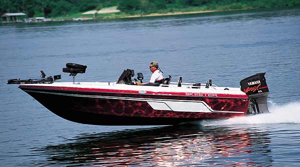 Even though big and brawny, Skeeter's new ZX2050 walleye boat is a first-class performer.