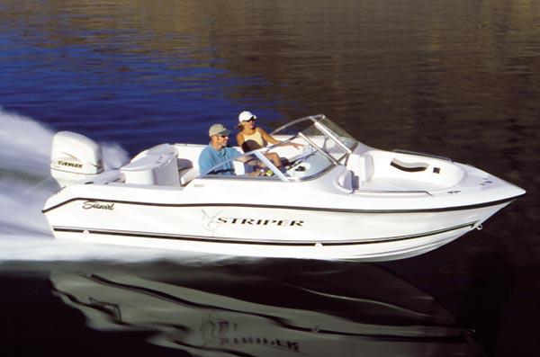 seaswirl's striper 1851 dual console model is an adept fishing boat as well  as a family