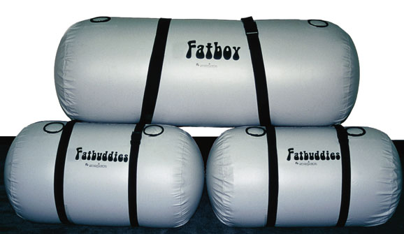 The Two Bladders Bags Bottom That Comprise Fatbuds Ballast System Enable Users