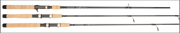 Falcon Graphite Rods' new Coastal Series range in length from 6 feet 6 inches to 7 feet 6 inches.