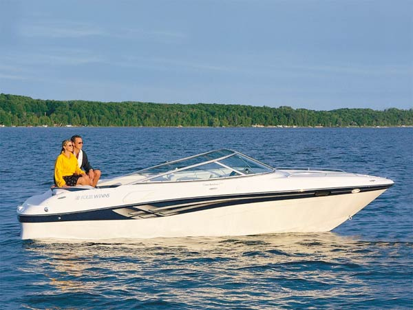 Everything that contributes to comfort in powerboats, from runabouts to megayachts, falls under the category of accommodations. (Photo courtesy Four Winns)