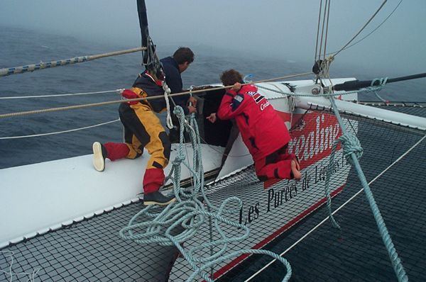 Transatlantic Record Attempt Halted