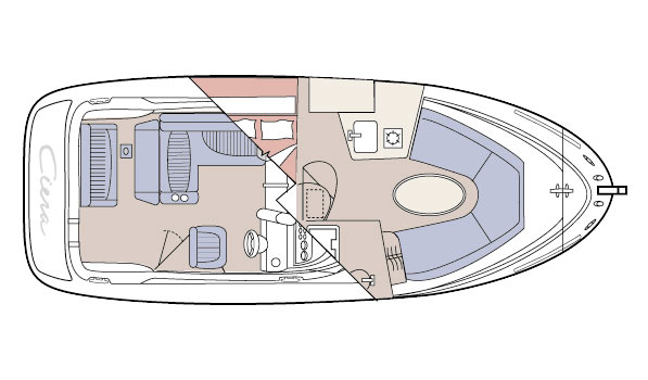 The 2455 Ciera was laid out with maximum cabin space.