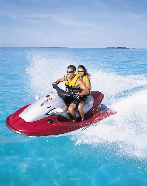 the nimble kawasaki 1100 stx d i  is a three-seater that delivers much of  the