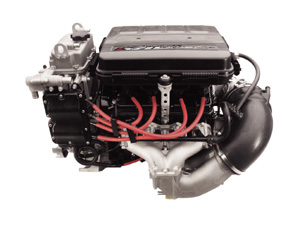 The four-stroke MR-1 motor in the FX140 is based off Yamaha's R-1 motorcycle engine.