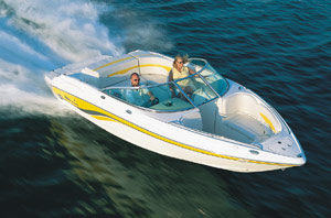 chaparral 220 ssi performance test
