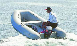 "AB Inflatables' line of Ventus lightweight inflatables includes the 9'6""-long 2.90VL."