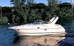 Cruisers 3275 Express: Sea Trial