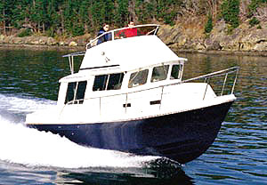Sea Sport Voyager 3000: Sea Trial