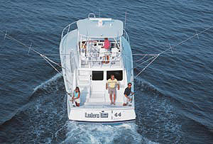 Luhrs 44 Convertible: Sea Trial