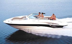 Sea Ray 220 Sundeck: Performance Test - boats com