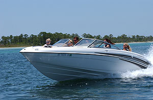 The new model's 20-degree deep-V hull smooths out the ride.