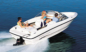 Bayliner 175: Sea Trial