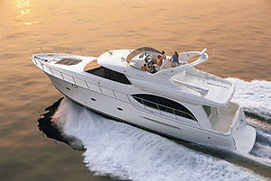 Meridian 580 Pilothouse: Sea Trial
