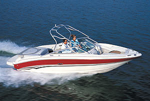Sea Ray 240 BR: Performance Test
