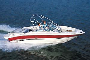 Sea Ray 240 BR: Performance Test - boats com