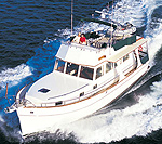 Grand Banks 42 Europa: Sea Trial