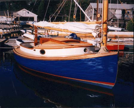 Areys Pond Lynx: A Classic Cape Cod Catboat