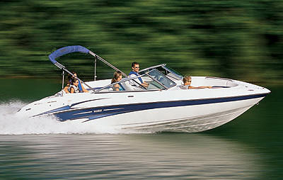 Top Speed For The Yamaha SX230 Was 472 Mph