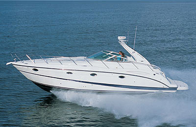 Maxum 3700 Sport Yacht: Sea Trial