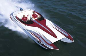 Katamaran sport  Eliminator 27 Daytona: 2004 Sport Catamaran of the Year - boats.com