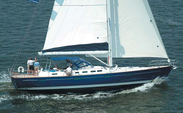 Beneteau 57: Test Sail