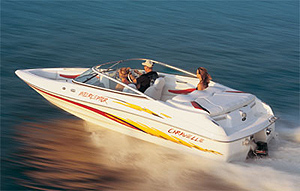 Caravelle Interceptor 232 LS Bowrider: Performance Test