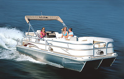 G3 Sun Catcher LX3 22 Cruise: Go Boating Review - boats com