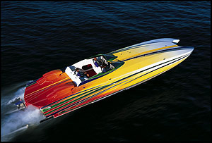Skater 40 Powerboat Performance Report Boats Com