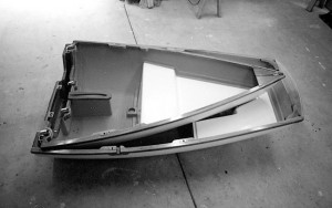 Britannia builds 6-foot-8-inch and 7-foot-10-inch folding dinghies.