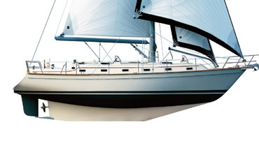 Island Packet 440 Debut at Southampton Boat Show