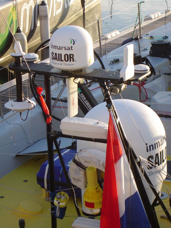 Inmarsat takes the lid off the Volvo Ocean Race 2005