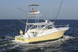 Luhrs 41 Open: Sea Trial