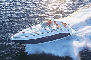 Rinker 390 Express Cruiser: Sea Trial