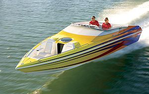 Advantage 28 Victory: Powerboat magazine Performance Report