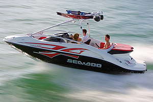sea doo speedster wake jet boat review. Black Bedroom Furniture Sets. Home Design Ideas