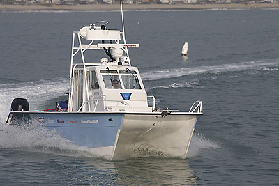Photographer Robert Brown customized this Twin Vee catamaran from West Coast Power Cats. (All photos courtesy/copyright Robert Brown Photography.)