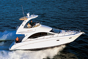 Sea Ray 36 Sedan Bridge Review