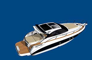 Bon Ranieriu0027s Latest Creation, The RC 43 Will Have Two Separate Cabins, Each  With Its